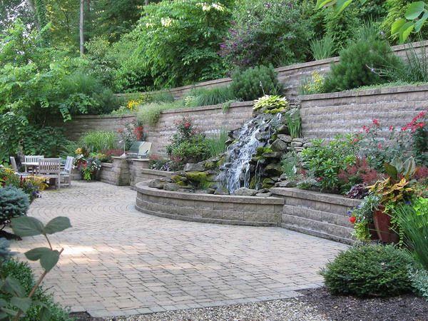 Patio garden ideas pictures