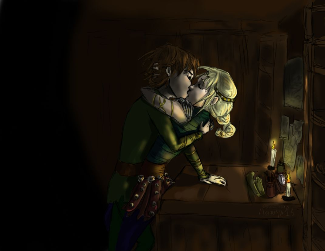 No Work At Midnight (hiccup And Astrid) By Mariya14iantart On