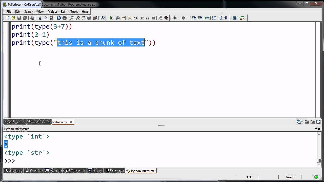 Introduction to Programs Data Types and Variables ...