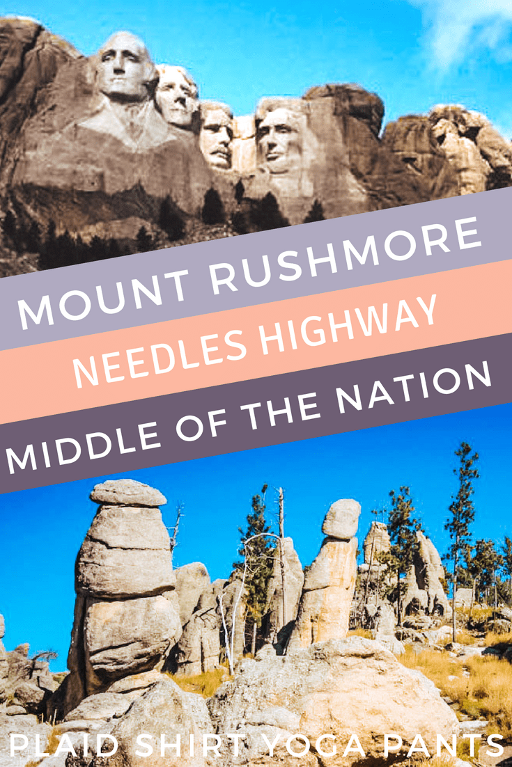 Seeing Mount Rushmore For The First Time Plaid Shirt Yoga Pants Mount Rushmore National Parks Trip Road Trip Usa