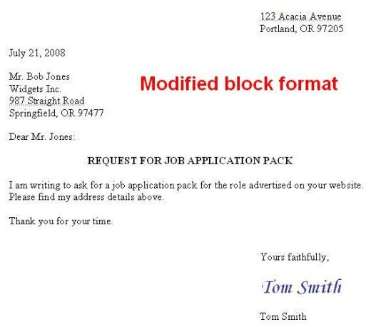 How To Format A Us Business Letter  English Writing