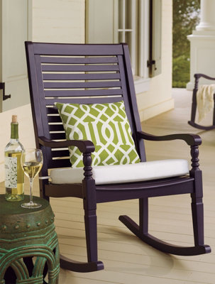 Nantucket Rocking Chair Rocking And Enjoying Life Porch