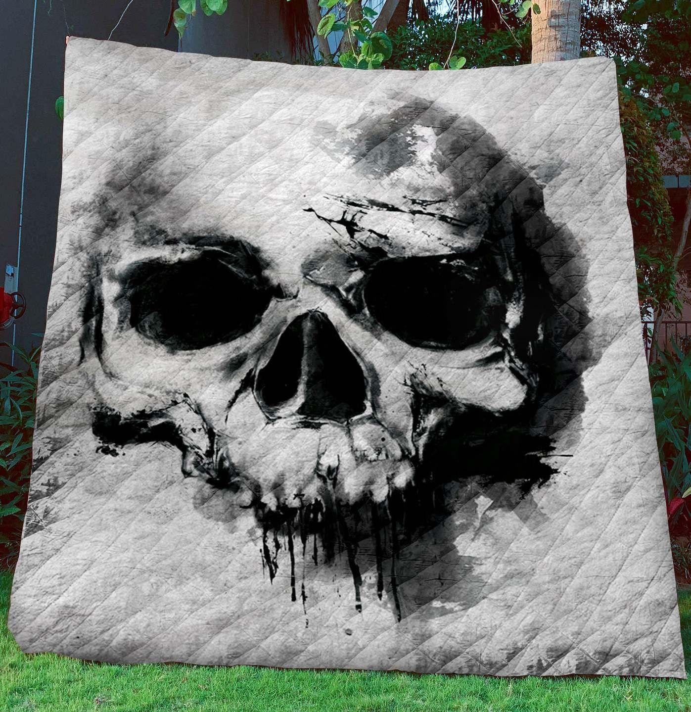 Skull JFJ12706 3D Customized Quilt CAMLI2707