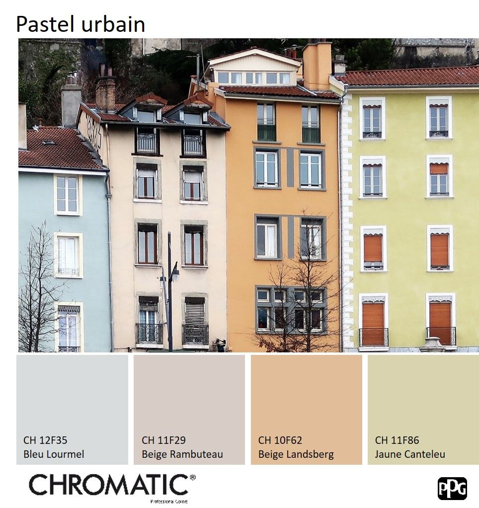 Retrouvez le nuancier chromatic facade sur chromatic en facade - Nuancier couleur facade maison ...