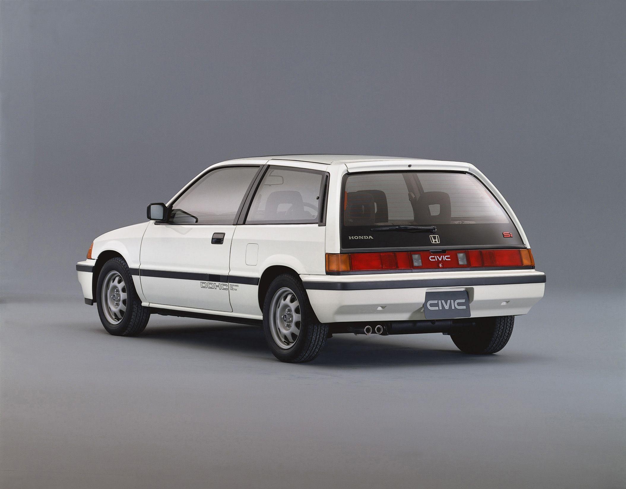 1985-87 Honda Civic Si Hatchback | Honda civic si ...