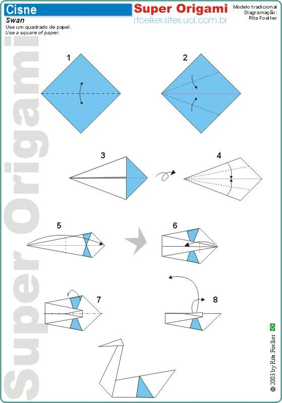 How to Make origami Crane Step by Step Instructions ... | 799x559