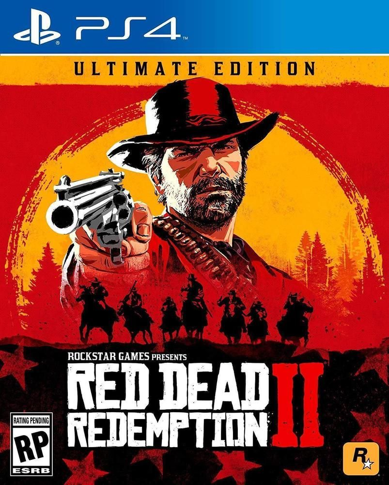 Red Dead Redemption 2 Ultimate Edition Ps4 Playstation 4 Rare Collector S Game Red Dead Redemption Red Dead Redemption Ii Rockstar Games