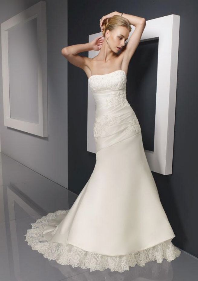 Bridal gowns petite brides best wedding dresses for for Petite bride wedding dress