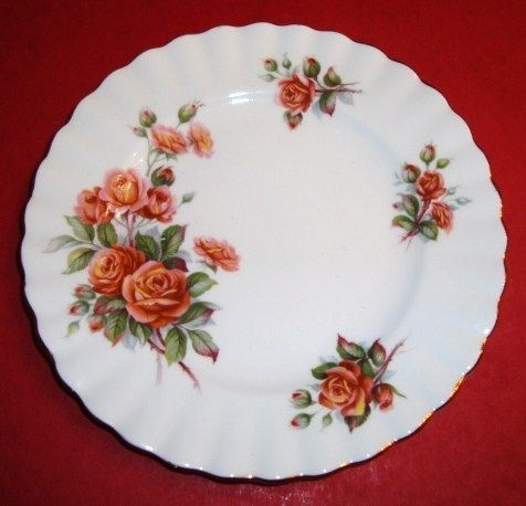 Royal Albert Bread and Butter Plate CENTENNIAL ROSE