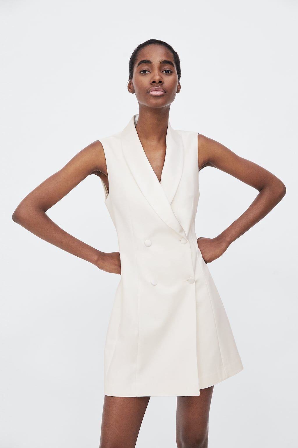 afcc1dc9 Image 2 of TUXEDO DRESS VEST from Zara | spring/summer fashion in ...