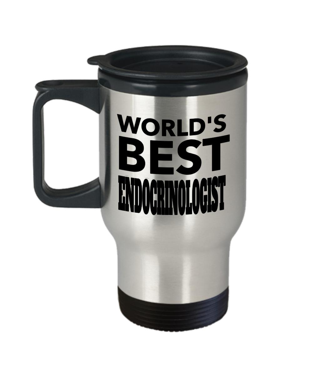 World's Okayest Boss Ceramic Coffee Mug - Adrenaline Mug - Doctor Coffee Mug - Worlds Best Endocrinologist, Funny Guy Mugs - Travel Mug