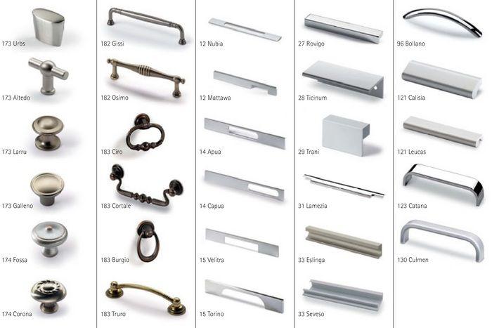 мебельные ручки Hettich Alfa Mebel полезное
