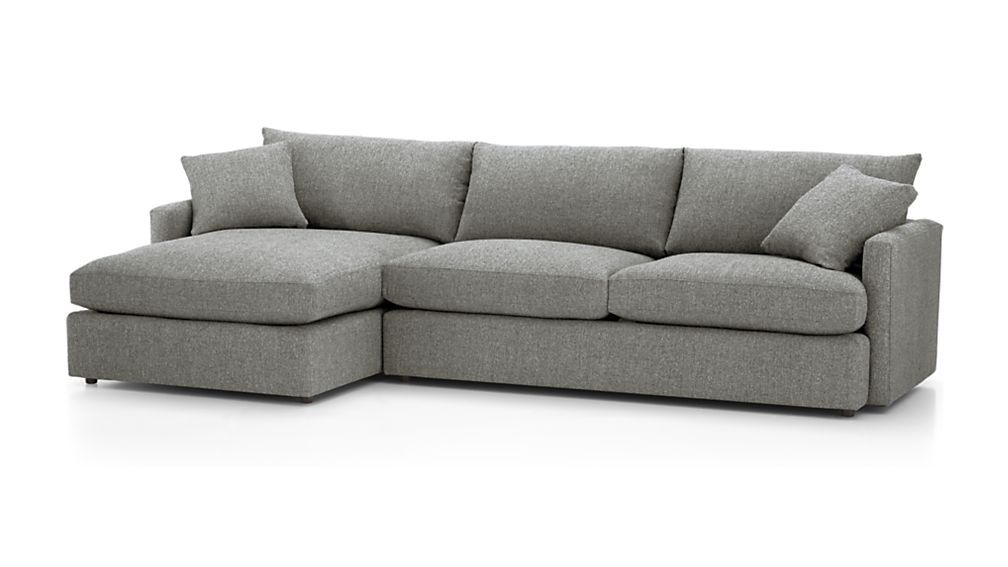 Lounge Ii Petite Sectional Sofa Reviews Crate And