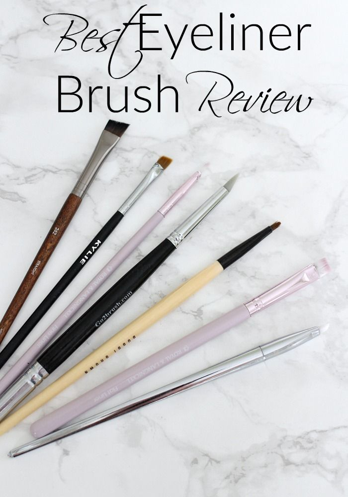Best Eyeliner Brush Review | Bobbi Brown, Real Techniques, Kylie Cosmetics & More - Everyday Starlet