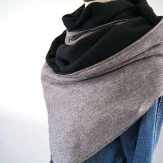 Tuto : Réaliser une grande chèche, le foulard tendance du moment #chechetutocouture