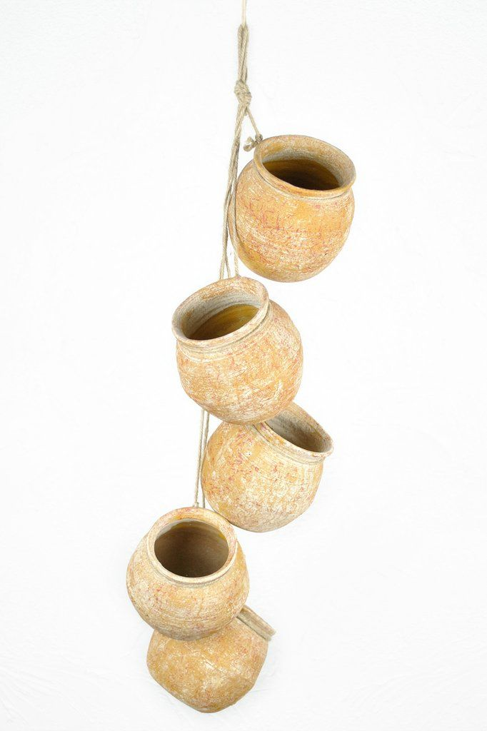 Mexican Clay Hanging Pots Mucho