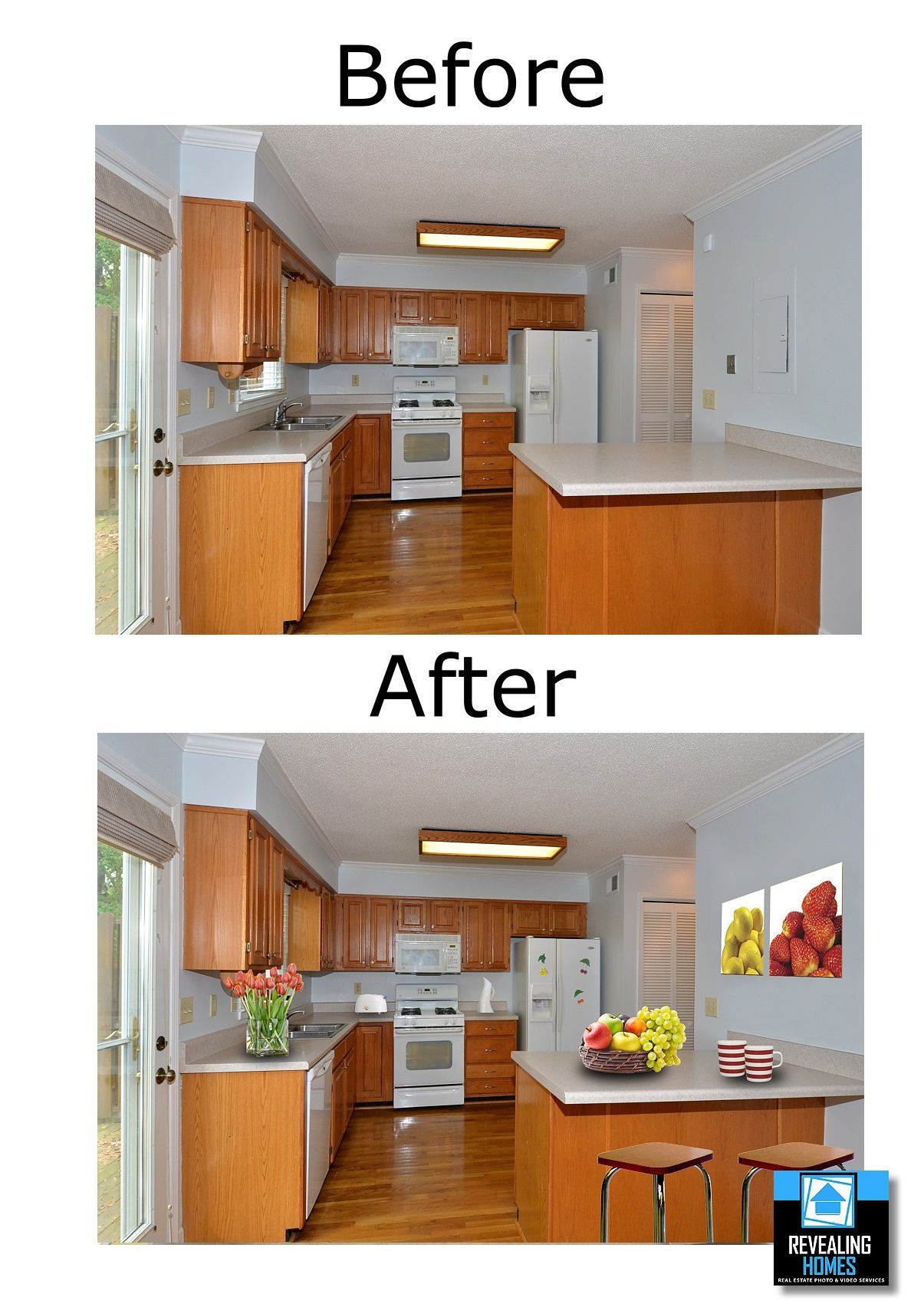 A Kitchen becomes furnished | Modern kitchen cabinets ...