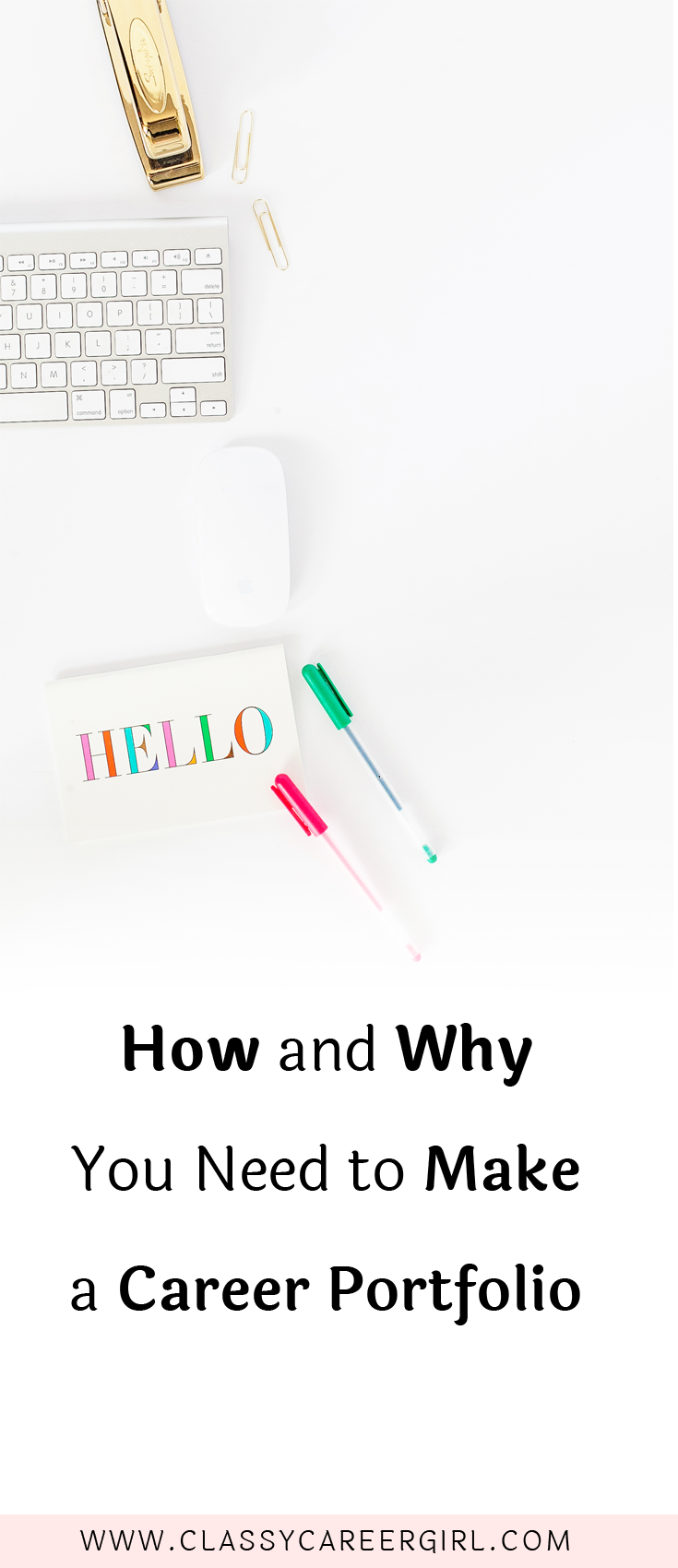 How and Why You Need To Make a Professional Portfolio | Bewerbung