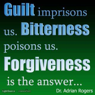 Thank God for forgiveness