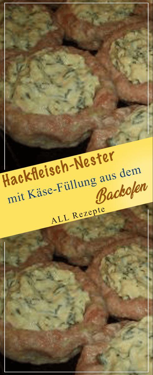 Photo of Hackfleisch-Nester mit Käse-Füllung aus dem Backofen – All R…