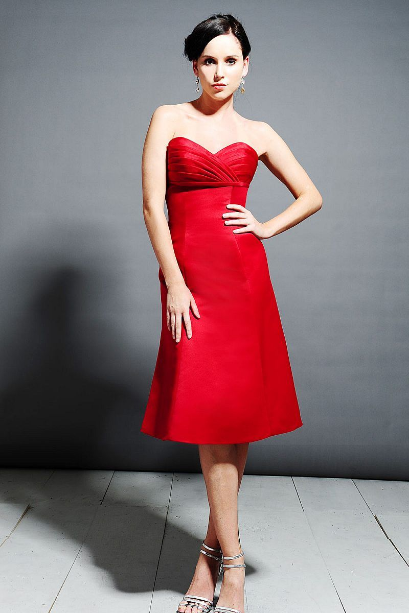 Red Dress for Wedding Reception - Plus Size Dresses for Wedding ...