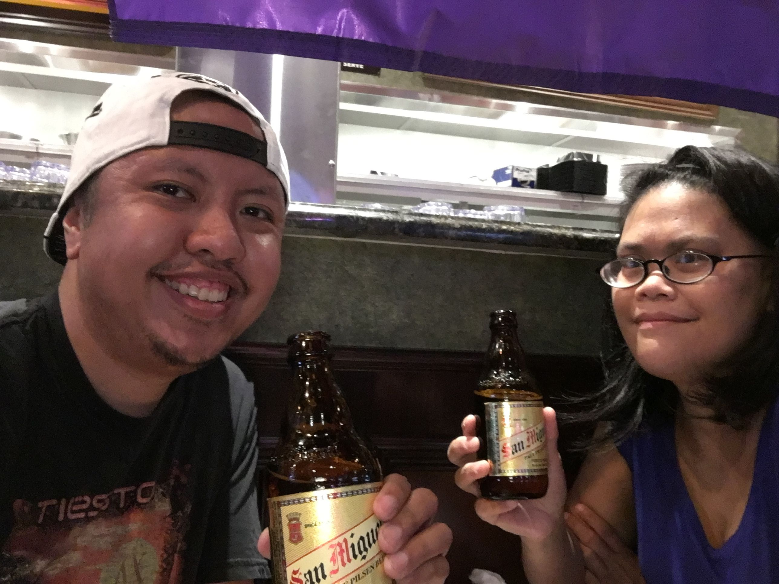 San Miguel and UFC 199 Saturdate at tilted Kilt