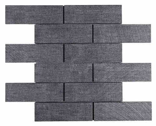Best Subway Mosaic Tile Lava Grey 2X6 Beadboard Backsplash 400 x 300