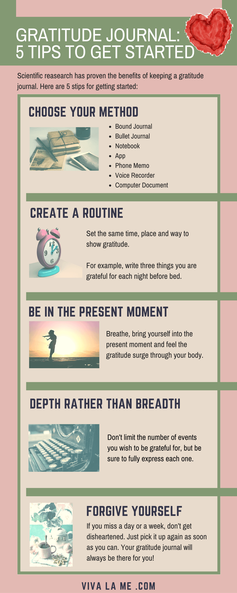 How To Start A Gratitude Journal | Sich gut fühlen, gute ...