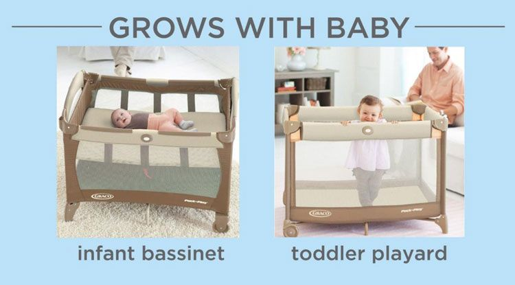 Can Baby Sleep In Pack N Play Napper If You Don T Know Then This Article Is Only For You Pack N Play Bassinet Baby Bassinet Pack And Play Crib