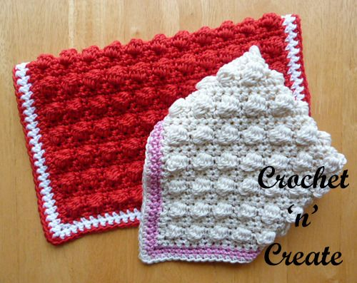 Scrubby Dishcloth Free Crochet Pattern