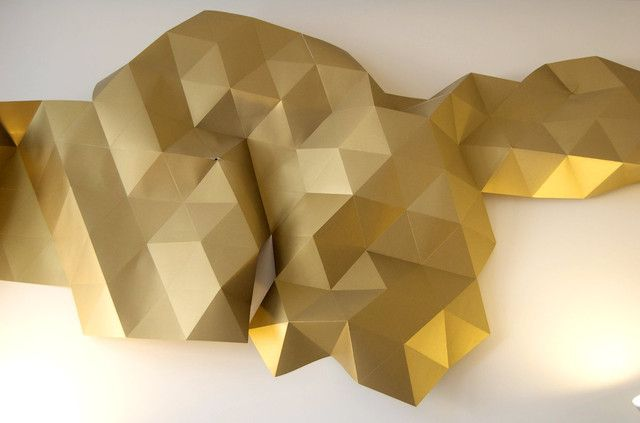 Origami Tessellations Wall Art How To Youtube WatchvQrCjrhkvTgQ Or Vimeo 16718882 Rough Came Be Found In Comments Here