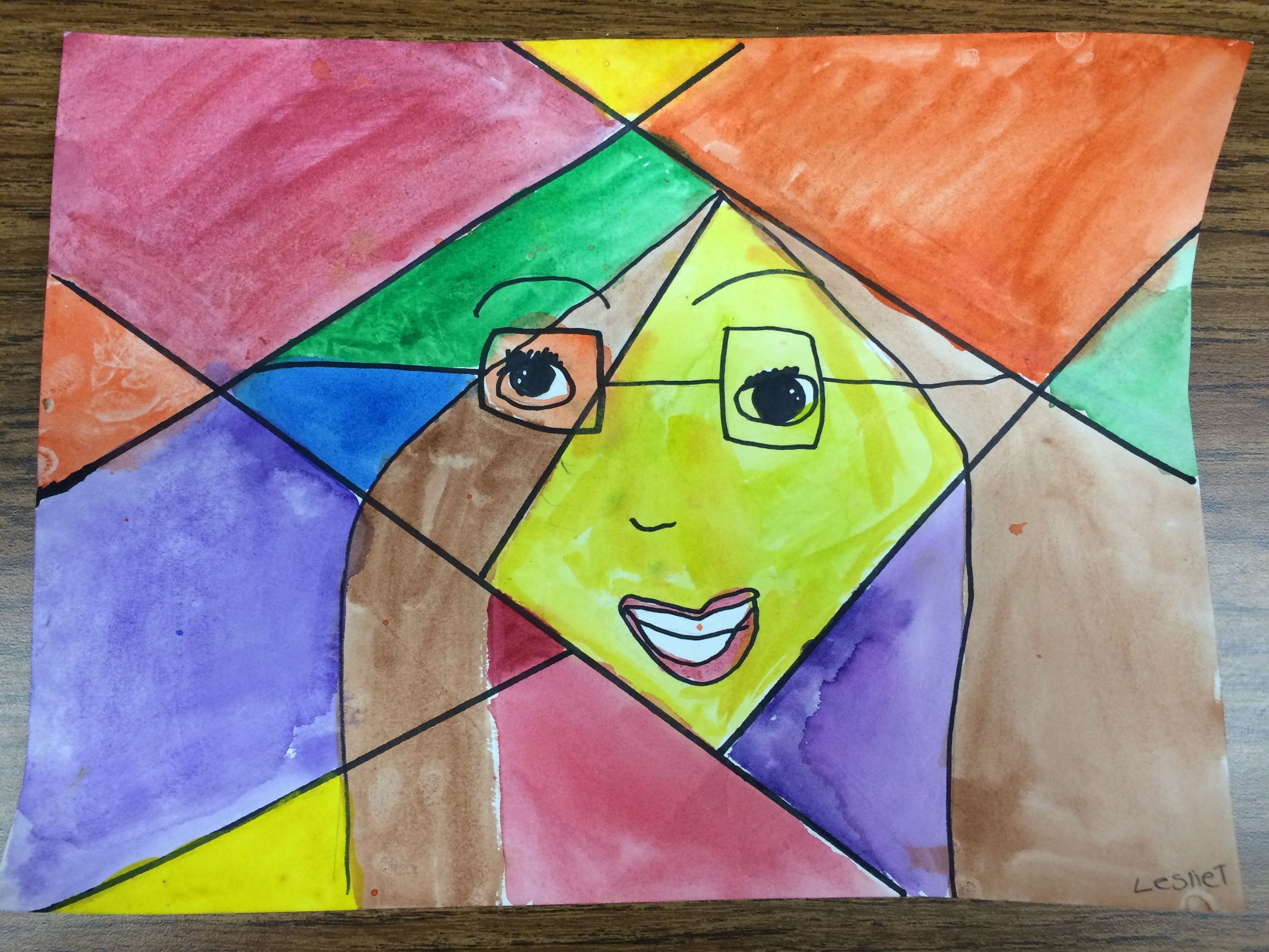 4th Cubism Self Portrait With Images