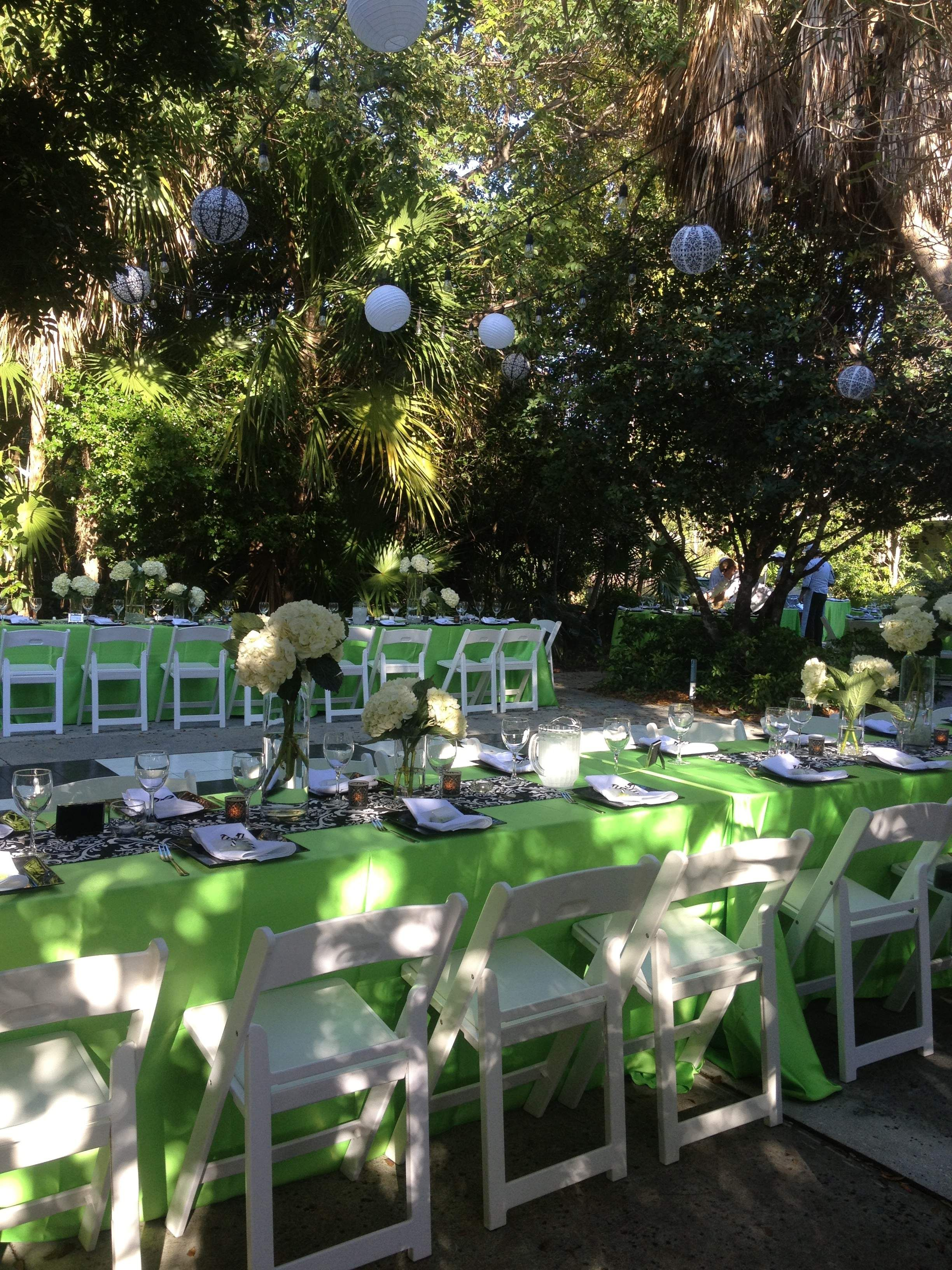 Wedding At The Key West Tropical Forest Botanical Garden In Early April