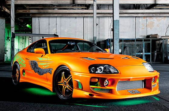 Paul Walker's Supra From the First Furious Movie