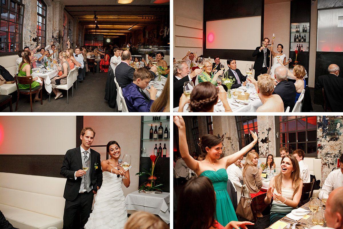 Hochzeitsfotos Von Hochzeitsfeier Im Sage Restaurant Berlin