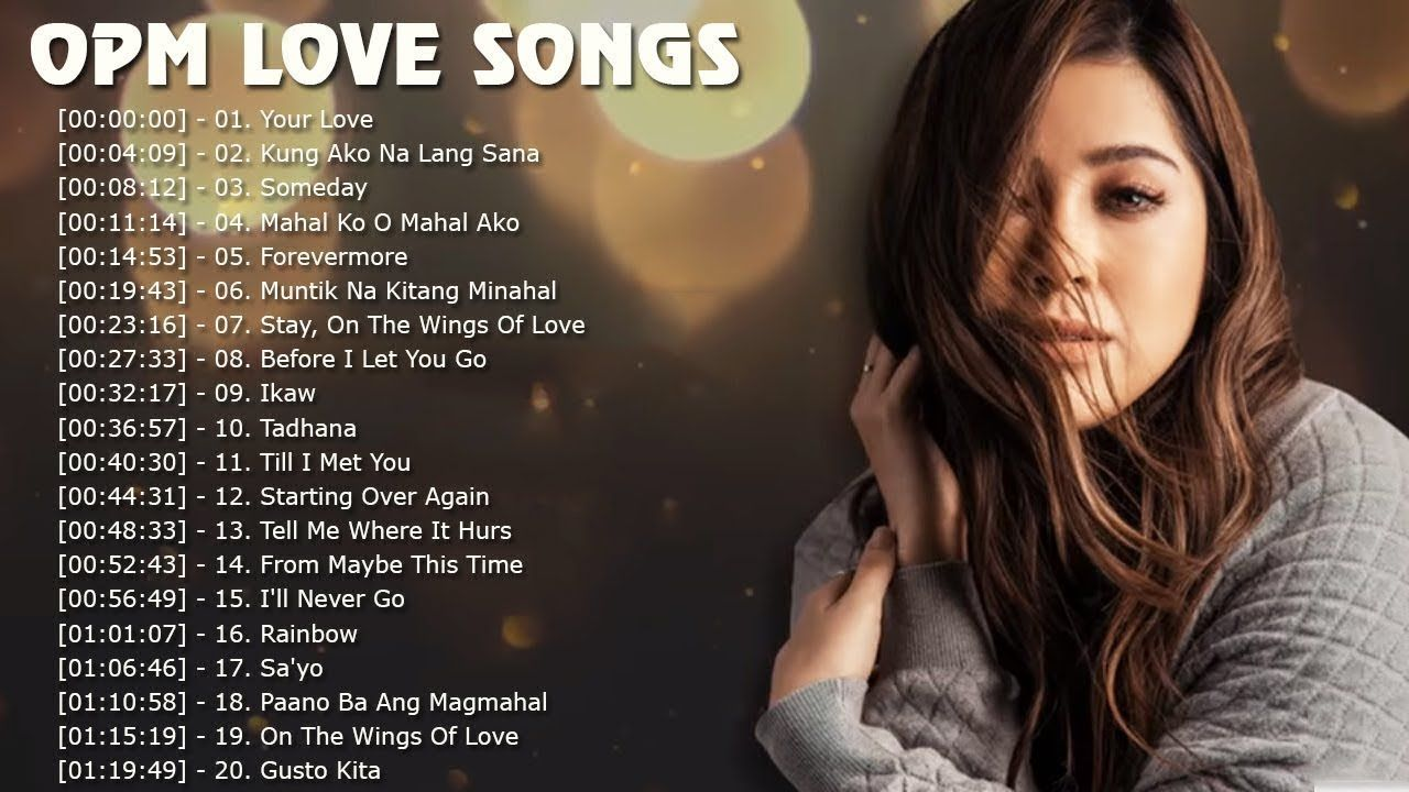 Top 100 Pampatulog Love Songs Collection 201 Best Opm Tagalog