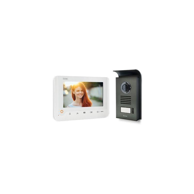 Extel Visiophone Nova White Branchement s/écuris/é Polarity Protect
