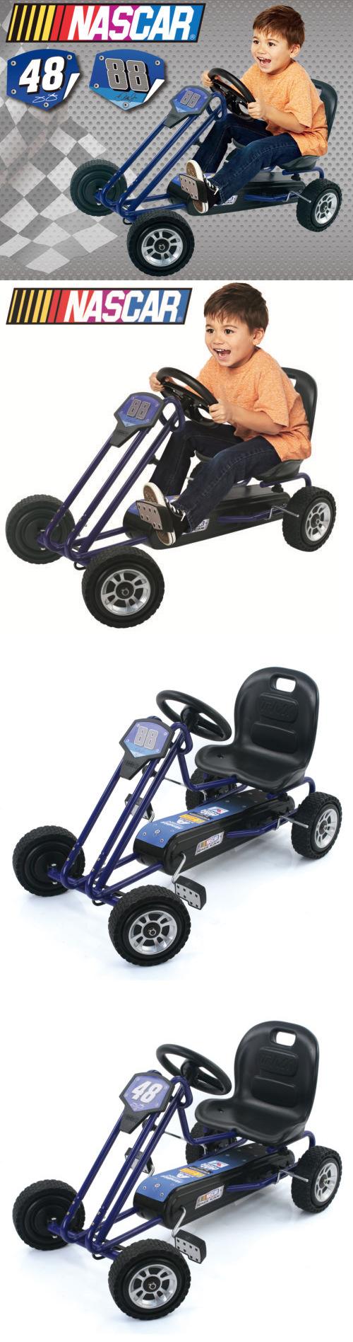 Complete Go-Karts and Frames 64656: Nascar Pedal Powered Go Kart ...