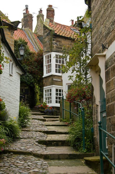 Robin Hood's Bay, North Yorkshire, England  Would love to see it !