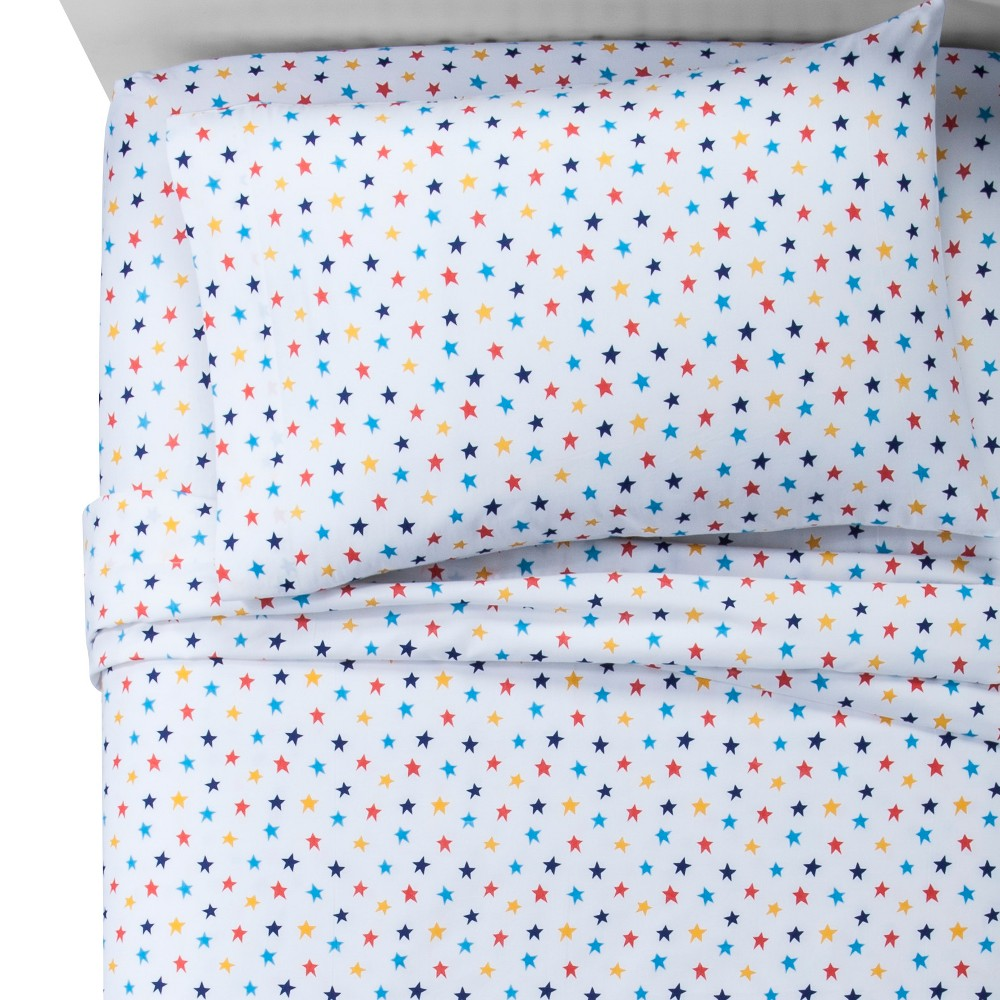 Stars 100 Cotton Sheet Set Toddler Pillowfort 100 Cotton