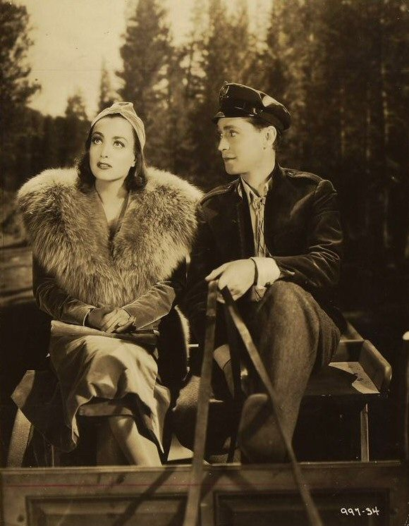 Joan Crawford and Franchot Tone -The Bride Wore Red