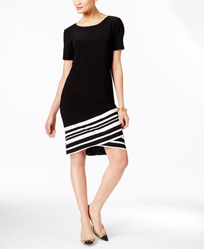 52.99$  Buy now - http://viper.justgood.pw/vig/item.php?t=l78tmk31160 - Asymmetrical Knit Dress, Only at Macy's