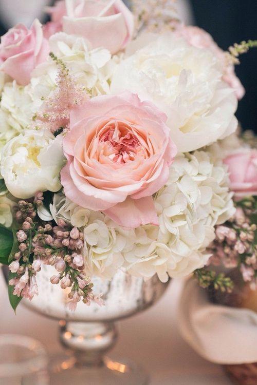 Favorite Centerpiece In White Or No Vase Pink Flower Arrangements Wedding Flower Arrangements Flower Arrangements