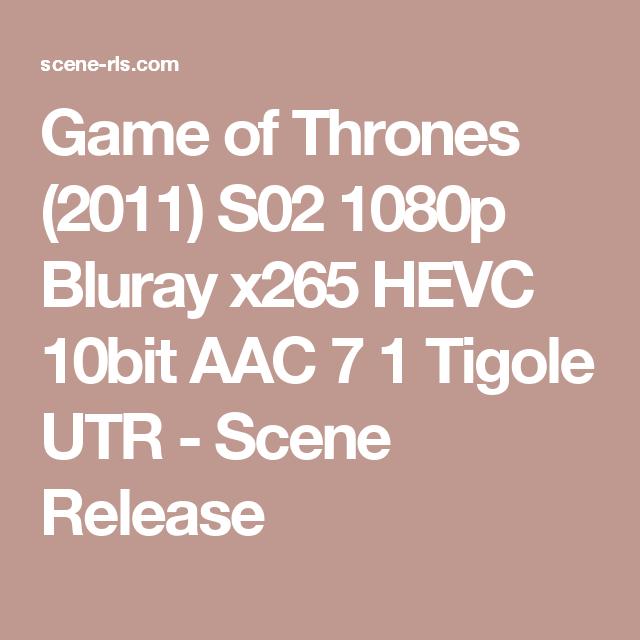 Game of Thrones (2011) S02 1080p Bluray x265 HEVC 10bit AAC