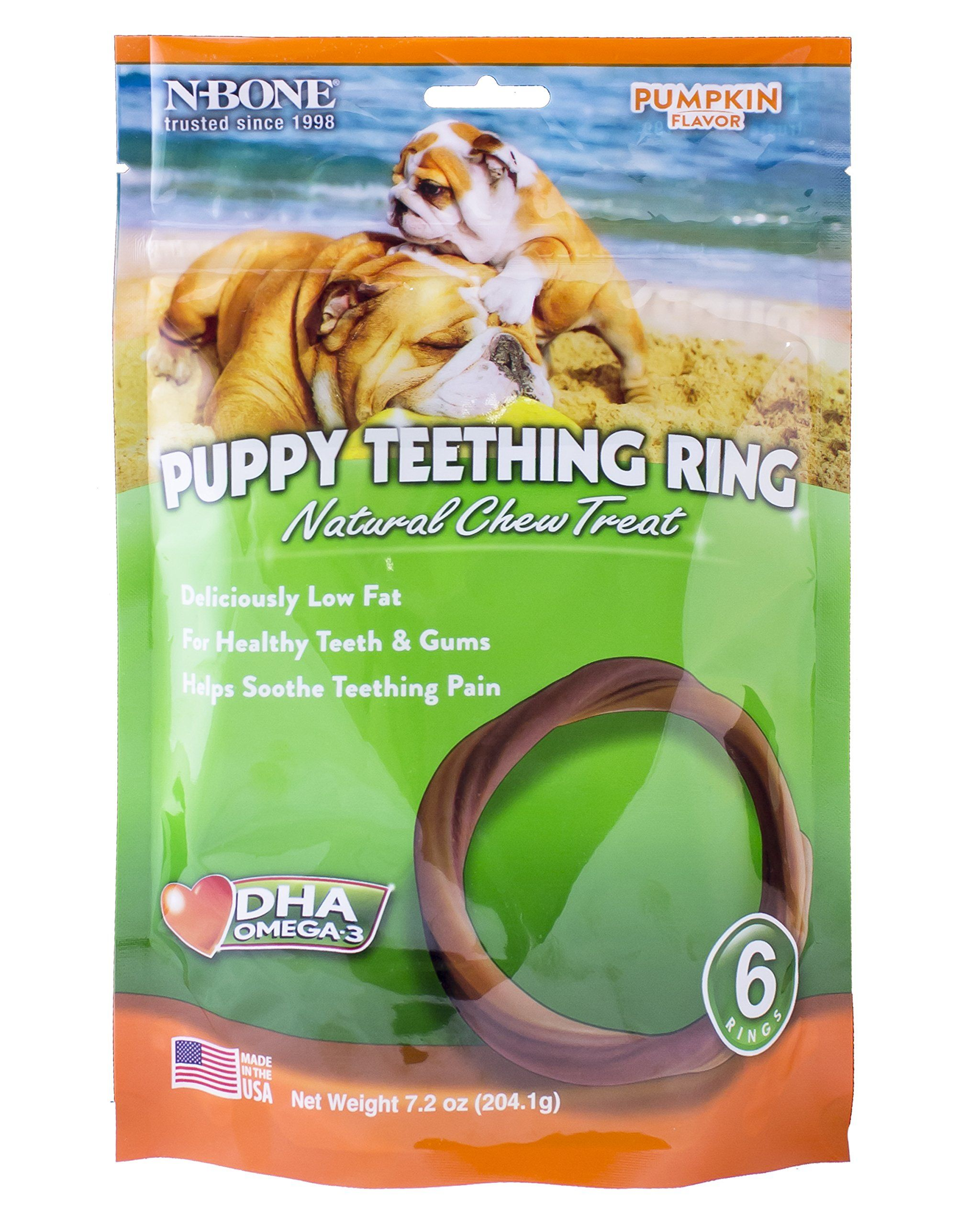 The Best Dog Bones For Your Puppy S Teeth Puppy Teething Dog Teeth Pumpkin Flavor
