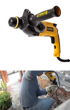 Use Dewalt 3 Mode D25123k Hammer Drill Is Light Work Of Removing Ceramic Tiles And Grout Drilling Into Brick Was A Piece Of Cake Dewalt Dewalt Tools Tools