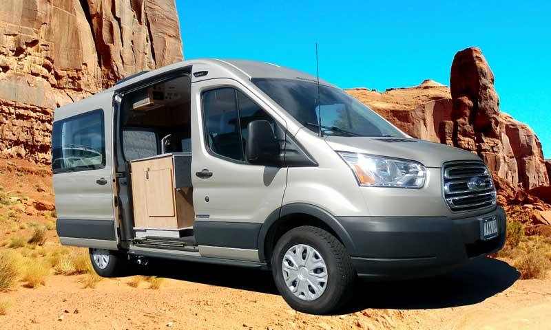 64 Ford Transit Camper Van Conversion Rear Dinette Bath