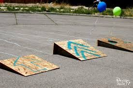 Diy Bike Ramps For Kids Google Search Kids Obstacle Course