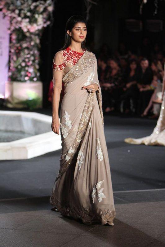 d6b66e8bcedb Manish Malhotra Latest Designer Saree Collection 2018-2019 Designs ...
