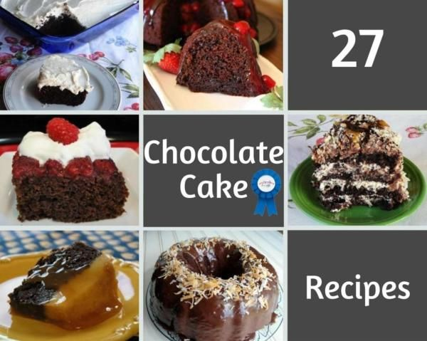27 Blue Ribbon Chocolate Cake Recipes Cake Recipes